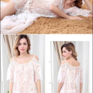 Dresses & Skirts - Dress Lace Short Beach Dress Lingerie Babydoll